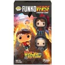 Настольная игра Back to the Future - POP! Funkoverse - 100 Expandalone
