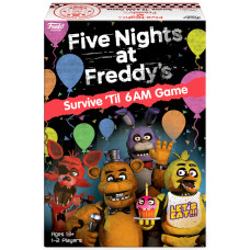 Настольная игра Five Nights at Freddy's - Signature Games - Survive 'Til 6 AM Game