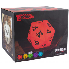 Светильник Dungeons & Dragons - D20 Dice (Colour Change)