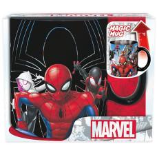 Кружка Marvel Comics - Multiverse Spider-Man (Heat Change) (460 мл)