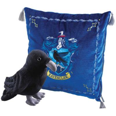 Набор мягких игрушек Noble Collection Harry Potter - Ravenclaw House Mascot & Cushion (20/34 см) NN7044