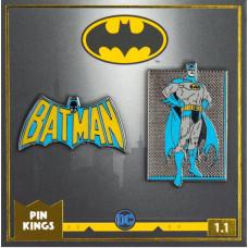 Набор значков DC Comics - Pin Kings - Batman 1.1 (2 шт)