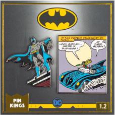 Набор значков DC Comics - Pin Kings - Batman 1.2 (2 шт)