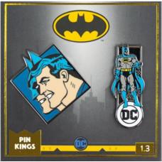 Набор значков DC Comics - Pin Kings - Batman 1.3 (2 шт)