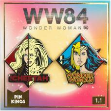 Набор значков Wonder Woman 1984 - Pin Kings - WW & Cheetah (2 шт)