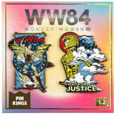 Набор значков Wonder Woman 1984 - Pin Kings - Fight For Justice (2 шт)