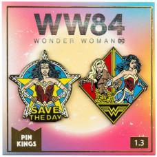 Набор значков Wonder Woman 1984 - Pin Kings - Save The Day (2 шт)