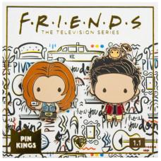 Набор значков Friends - Pin Kings - Rachel & Ross (2 шт)