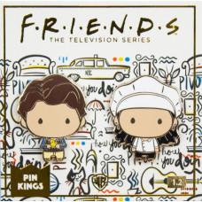Набор значков Friends - Pin Kings - Monica & Chandler (2 шт)