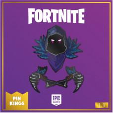 Набор значков Fortnite - Pin Kings - Raven (2 шт)