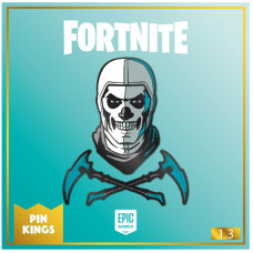 Набор значков Fortnite - Pin Kings - Skull Trooper (2 шт)