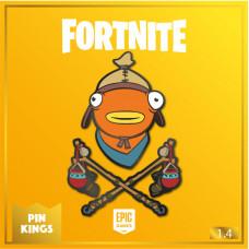 Набор значков Fortnite - Pin Kings - Fishsticks (2 шт)