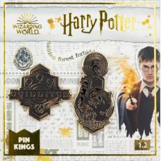 Набор значков Harry Potter - Pin Kings - Quidditch & Crookshanks (2 шт)