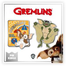 Набор значков Gremlins - Pin Kings - Important Rules (2 шт)