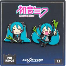 Набор значков Hatsune Miku - Pin Kings - Hatsune Miku 1.1 (2 шт)