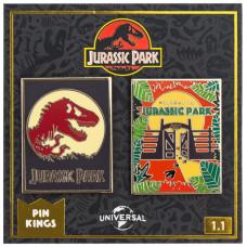 Набор значков Jurassic Park - Pin Kings - Set 1.1 (2 шт)