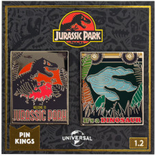 Набор значков Jurassic Park - Pin Kings - Set 1.2 (2 шт)