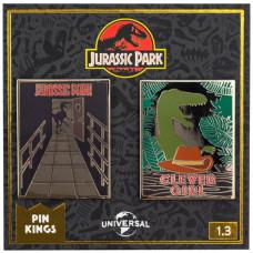 Набор значков Jurassic Park - Pin Kings - Set 1.3 (2 шт)