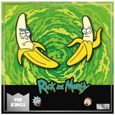Набор значков Rick & Morty - Pin Kings - Banana Rick & Morty (2 шт)
