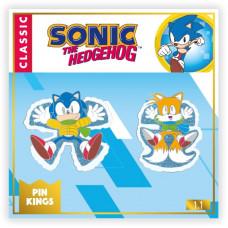 Набор значков Sonic the Hedgehog - Pin Kings - Classic Christmas (2 шт)