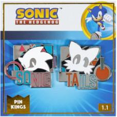 Набор значков Sonic the Hedgehog - Pin Kings - Remix (2 шт)