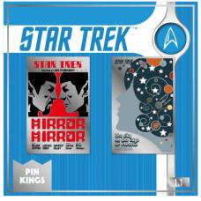 Набор значков Star Trek - Pin Kings - Mirror Spock & The City on The Edge (2 шт)