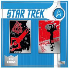Набор значков Star Trek - Pin Kings - The Devil in the Dark & Space Seed (2 шт)