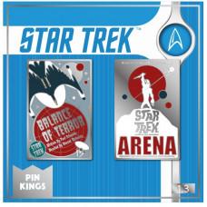 Набор значков Star Trek  - Pin Kings - Balance of Terror & Arena (2 шт)