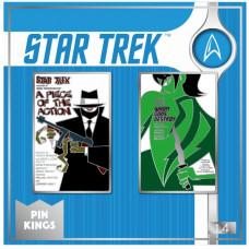 Набор значков Star Trek - Pin Kings - A Piece of Action & Whom Gods Destroy (2 шт)