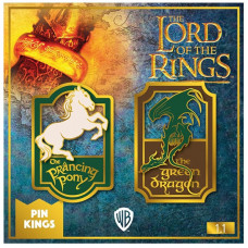 Набор значков Lord of the Rings - Pin Kings - Prancing Pony & Green Dragon (2 шт)