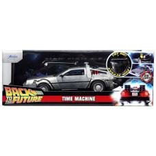 Модель автомобиля Back To The Future - Hollywood Rides - Time Machine (1:24)