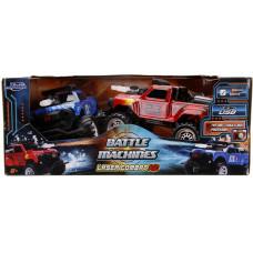 Набор моделей автомобилей - Battle Machines - Laser Combat (Remote Control) (1:16)