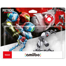 Интерактивная фигурка amiibo - Metroid Dread - Samus & E.M.M.I