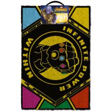 Коврик придверный Avengers: Infinity War - Infinite Power Within (40x60 см)