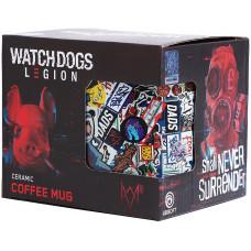 Кружка Watch Dogs: Legion - Comics (520 мл)