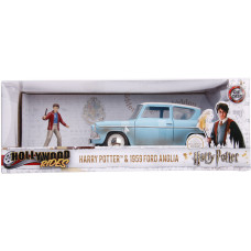 Набор Harry Potter - Hollywood Rides - Harry Potter & 1959 Ford Anglia (7 см, 1:24)