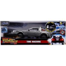 Модель автомобиля Back To The Future 2 - Hollywood Rides - Time Machine (1:24)