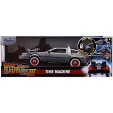 Модель автомобиля Back To The Future 3 - Hollywood Rides - Time Machine (1:24)