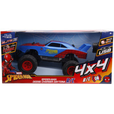Модель автомобиля Spider-Man - Elite R/C - Dodge Charger Daytona 4x4 (Remote Control) (1:12)