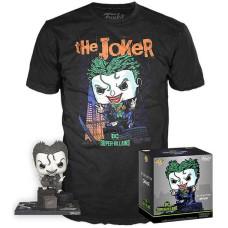 Набор DC Comics - POP! Tees - The Joker (DC Collection of Jim Lee) (фигурка/ футболка)