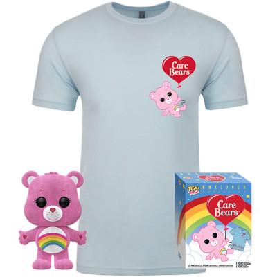 Набор Funko Care Bears - POP! Tees - Cheer Bear (фигурка / футболка) UT-56654