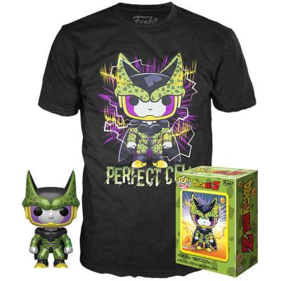 Набор Funko Dragon Ball Z - POP! Tees - Perfect Cell (фигурка / футболка) UT-56669