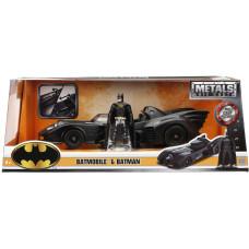 Набор Batman (1989) - Hollywood Rides - Batmobile & Batman (1:24, 7 см)