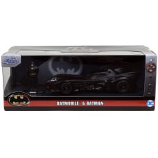 Набор Batman (1989) - Hollywood Rides - Batmobile & Batman (1:32, 4 см)