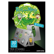 Набор наклеек Rick & Morty - Adventures (30 шт)