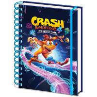 Блокнот Crash Bandicoot 4 - Ride