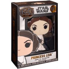 Значок Star Wars - POP! Pin - Princess Leia (10 см)