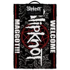 Коврик придверный Slipknot - Welcome Maggot (40x60 см)