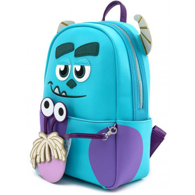 Рюкзак Loungefly Мини Monsters Inc - Sully Cosplay with Boo Coin Pouch WDBK1188