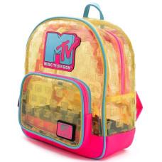 Мини рюкзак MTV (Clear Neon)